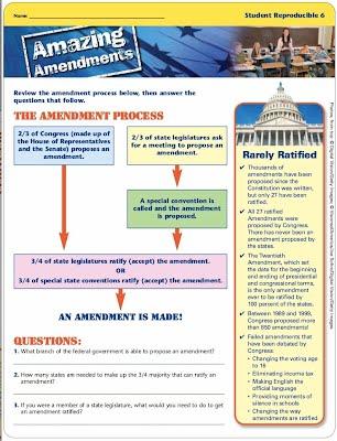 Amazing amendments worksheet answers