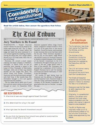 Considering The Constitution The Federal Courts Civics Education
