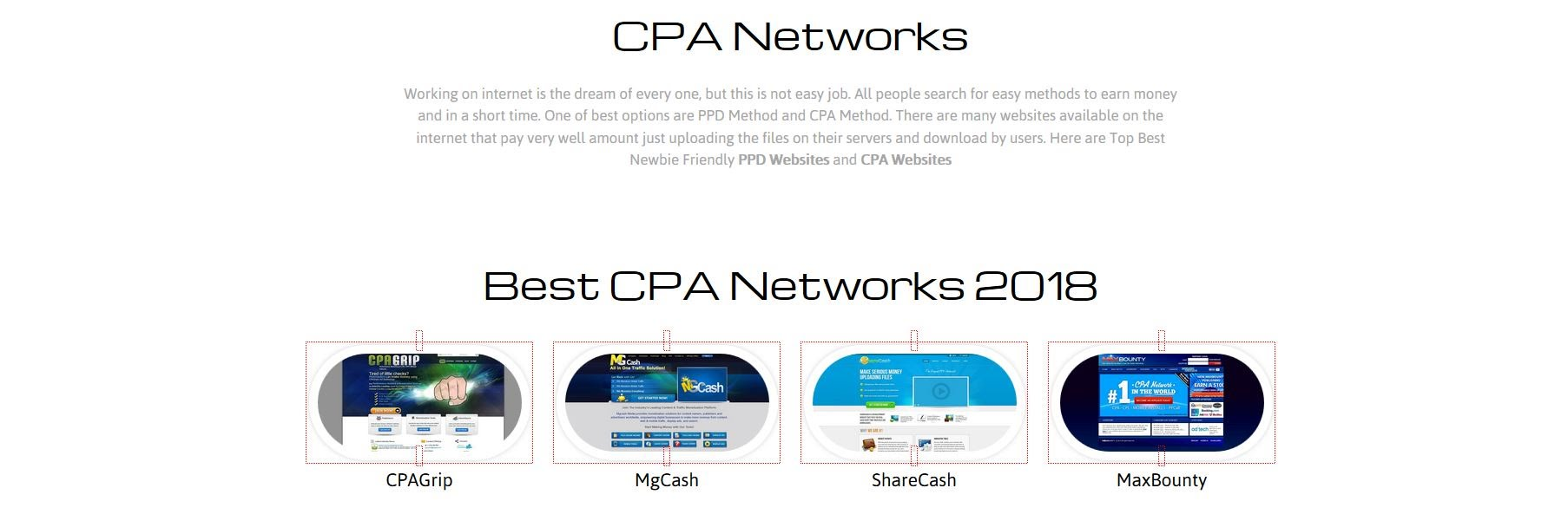 cpa networks for newbies