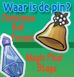 Waar is de pin?