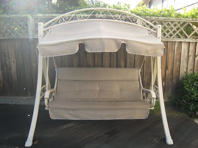 Costco Swing Replacement Cushion Canopy Cp S Conversation Pieces
