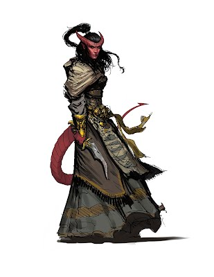 Tiefling - Critical Dudes