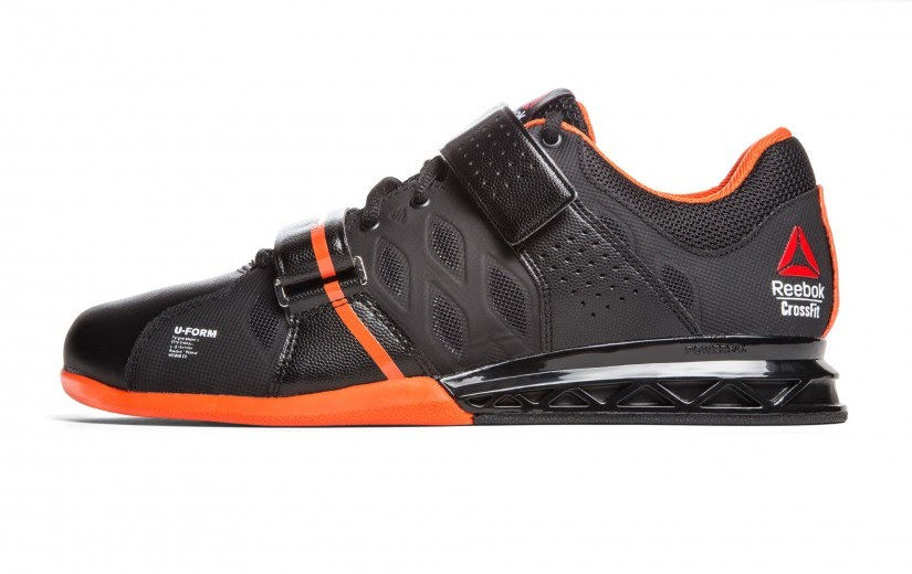 Reebok CF lifter shoes on Rogue Fitness