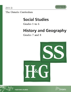 Picture of Ontario Social Studies, History and Geography (2013) Curriculum cover