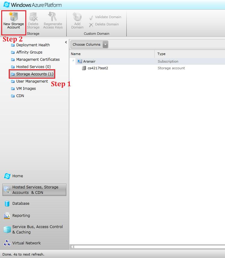 Hosting Files with Azure Storage - Cloud Computing