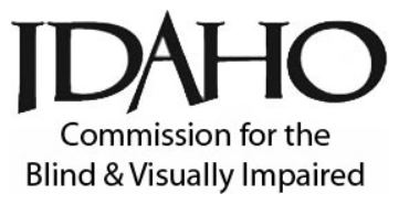 Idaho Commission for the Blind