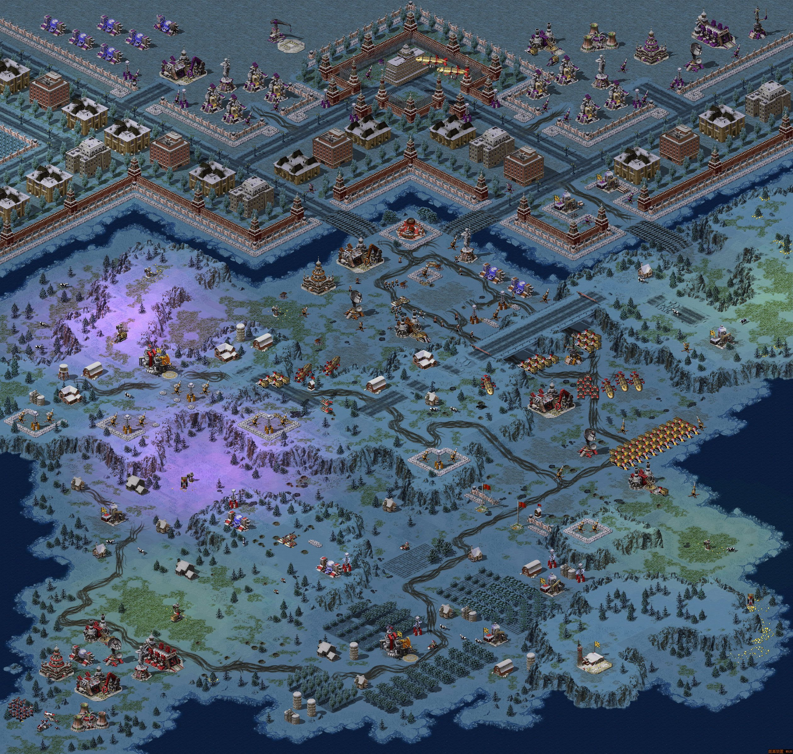 Red Alert  Island Maps