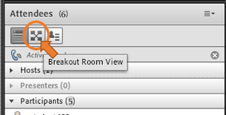screen clipping Connect breakout room view shortcut icon