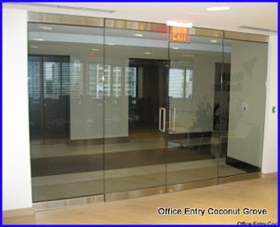 Cuttingedgeglasscorp com for Office glass door entrance designs