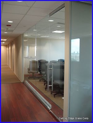 Interior Office Entry Doors And Glass Partitions Serving Pinecrest