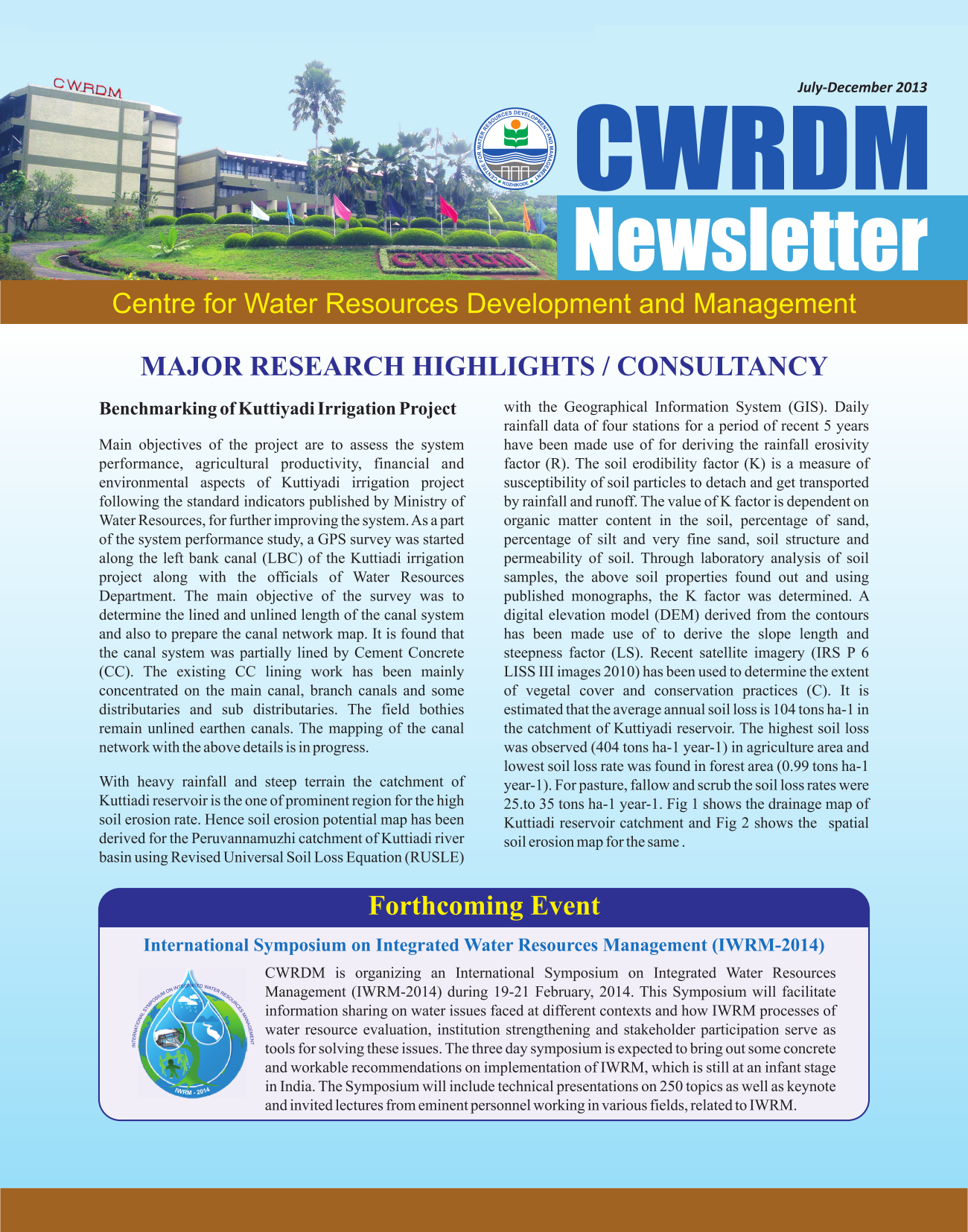 CWRDM Newsletter