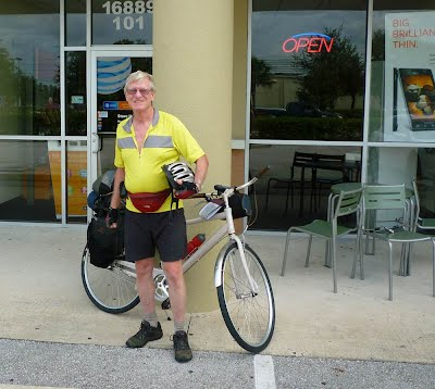 Riding with a Rental Bike