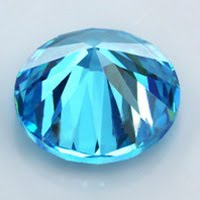 Aquamarine Cubic Zirconia Loose Blue Topaz Gemstones Lab