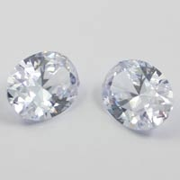 White Cubic Zirconia Oval Gemstones Wholesale China - Loose Cubic