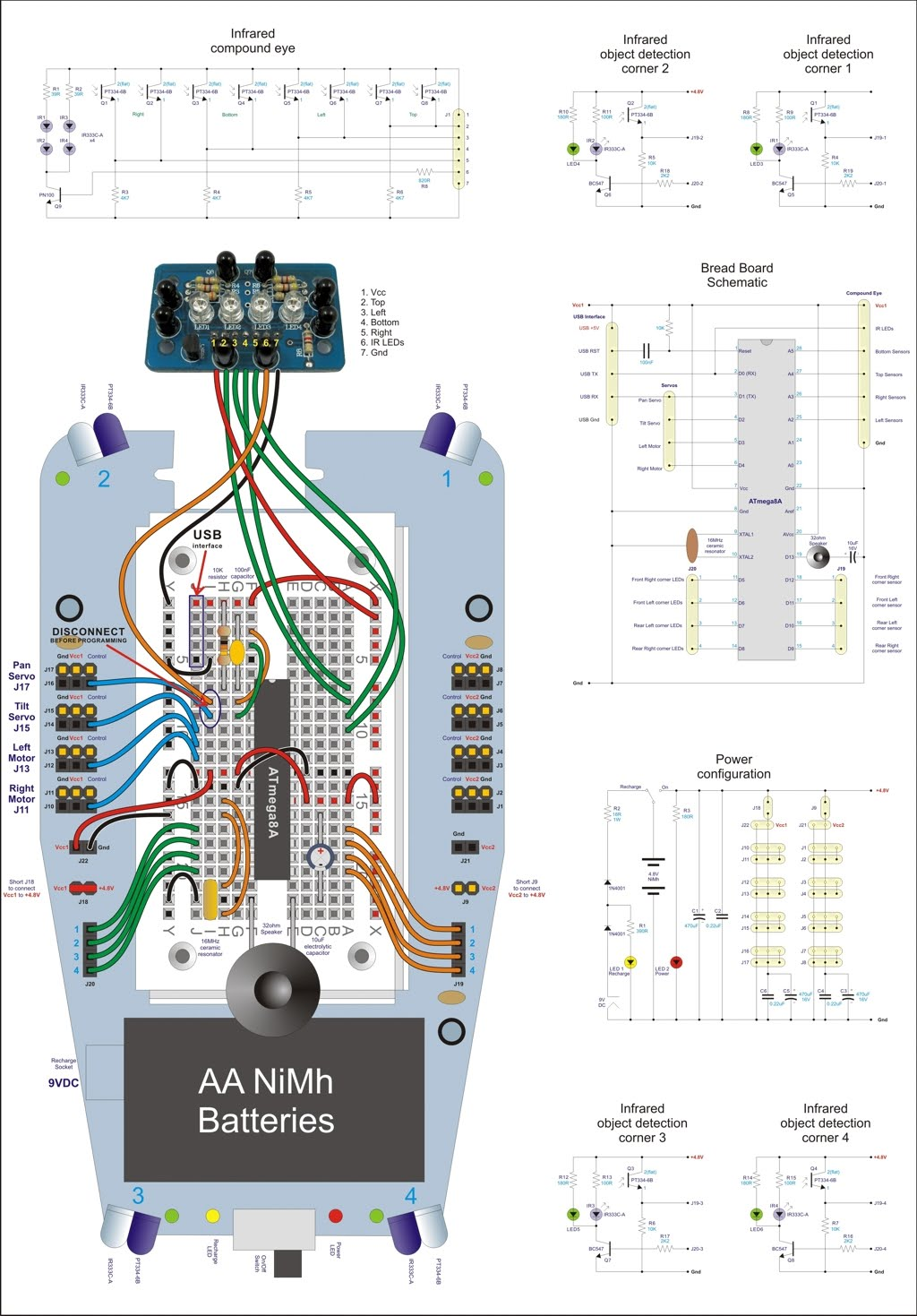 Understanding Mr General Dagu Products Wii Wiring Diagram Below Is A And Schematics Of Using An Atmega8a The Picaxe 28x1 Can Be Found Further Down