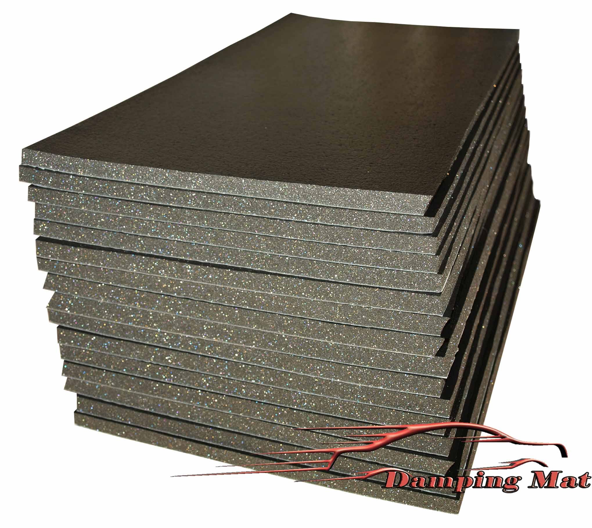 Sound Proof Insulation : Sheets mm car sound proofing deadening insulation