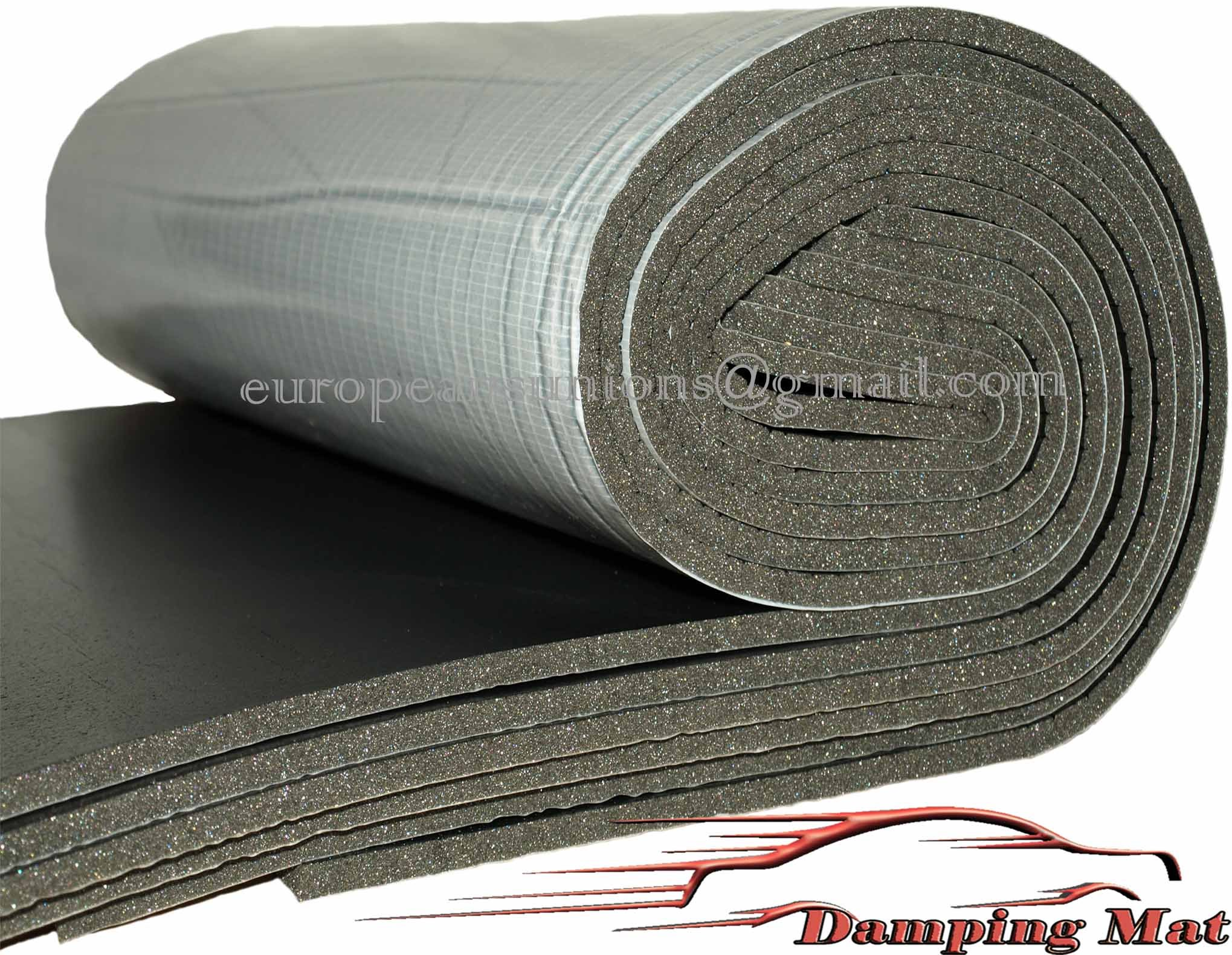 Acoustic Foam Boat : Damping mat isolator large sheets sq ft insulation