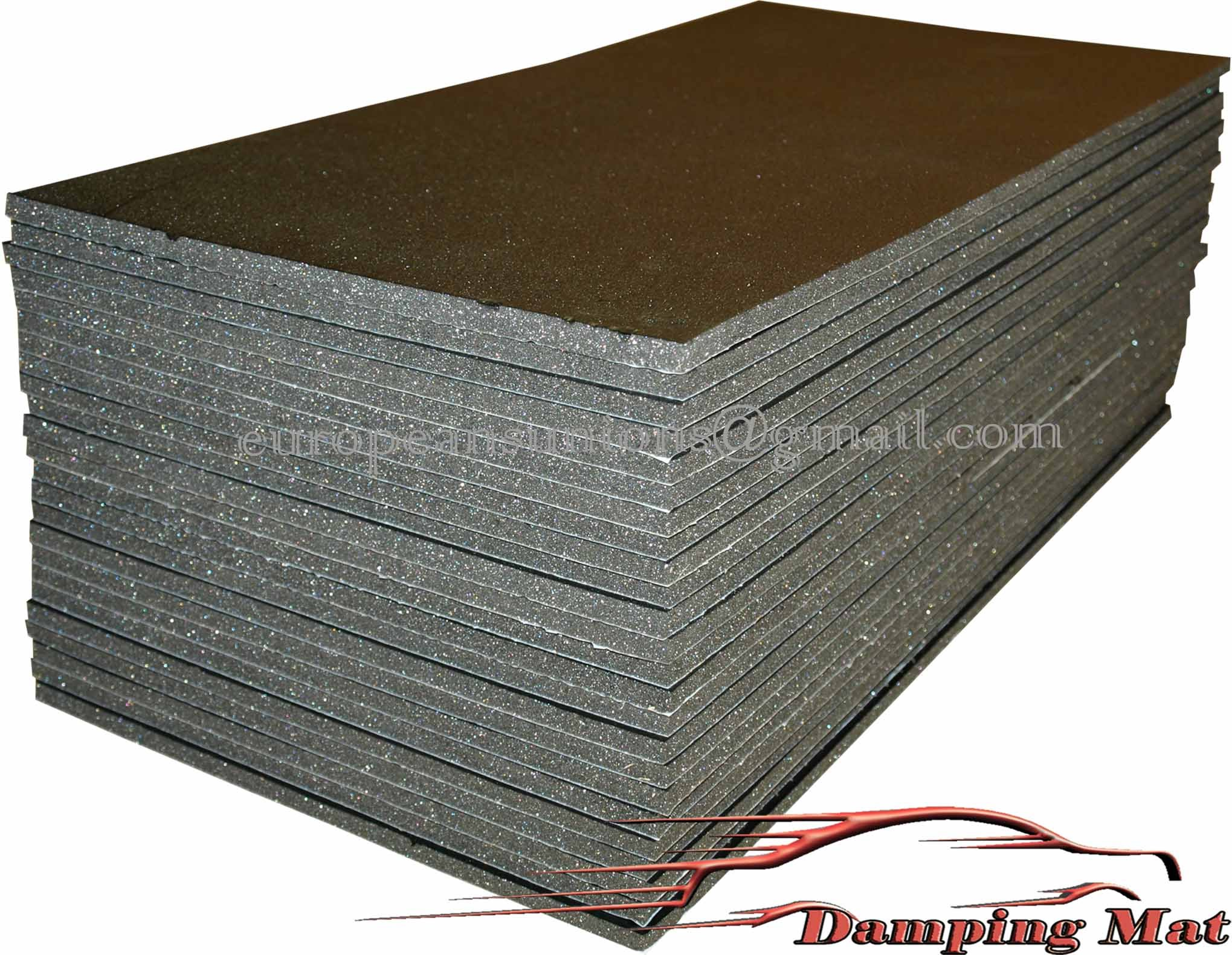 Sound Insulation Materials : Sq ft auto truck car vehicle sound proofing deadening