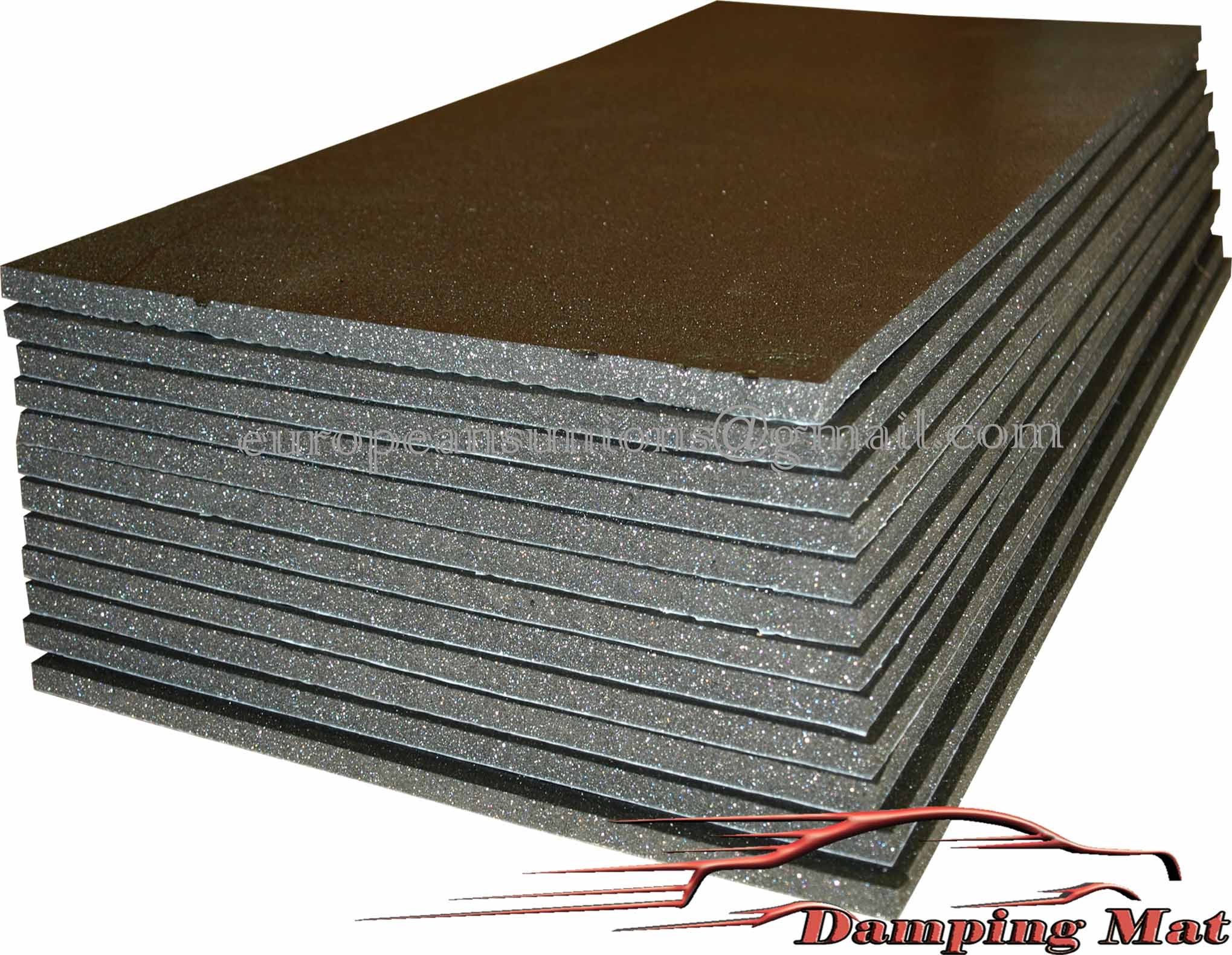 buy 12 sheets 20 x10 auto voiture sound deadener On sound deadening material home