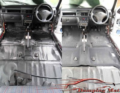 18 Sheets 23sq Ft Car Vehicle Sound Deadening Insulation