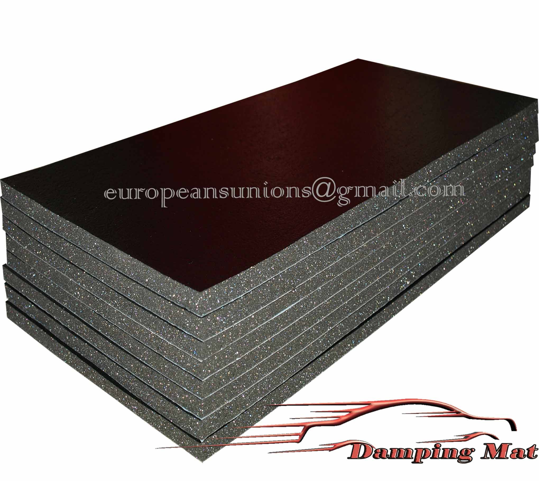 Sound Proof Insulation : Sheets quot x auto car truck sound deadener
