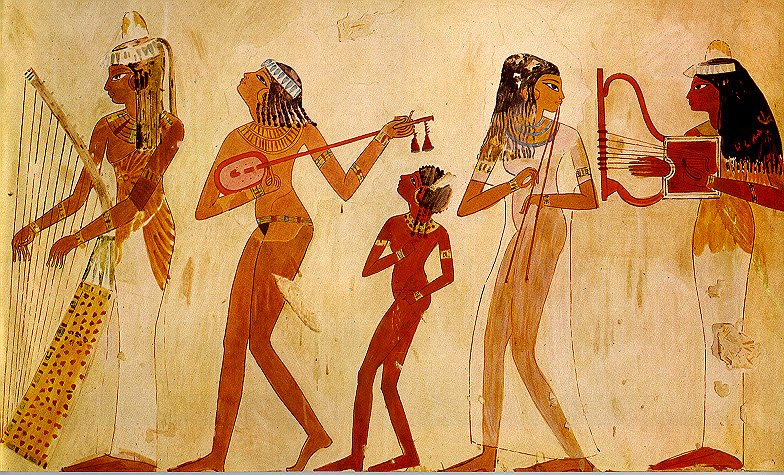 Ancient times [till 400 AD] - History of dance in Egypt