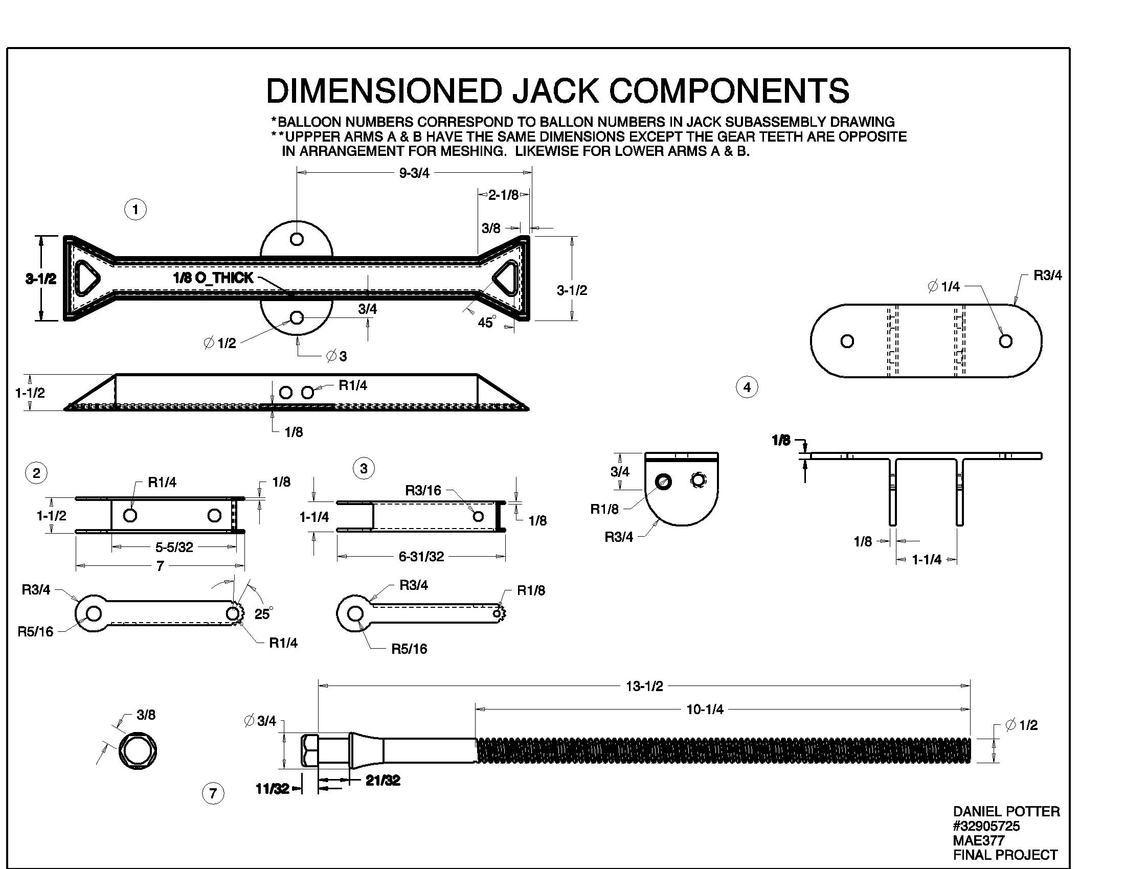 Scissor Jack Parts Diagram Components Wire Diagrams Hydraulic Pallet Project 08 Danielpottercaddesign Motorcycle Sale 13