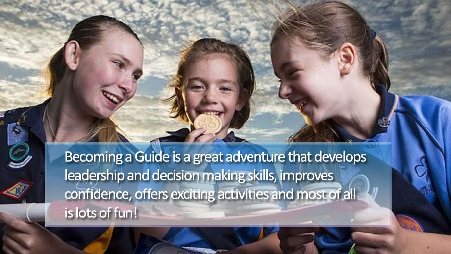Becoming a Guide is a great adventure that develops leadership and decision making skills, improves confidence, offers exciting activities and most of all is lots of fun!