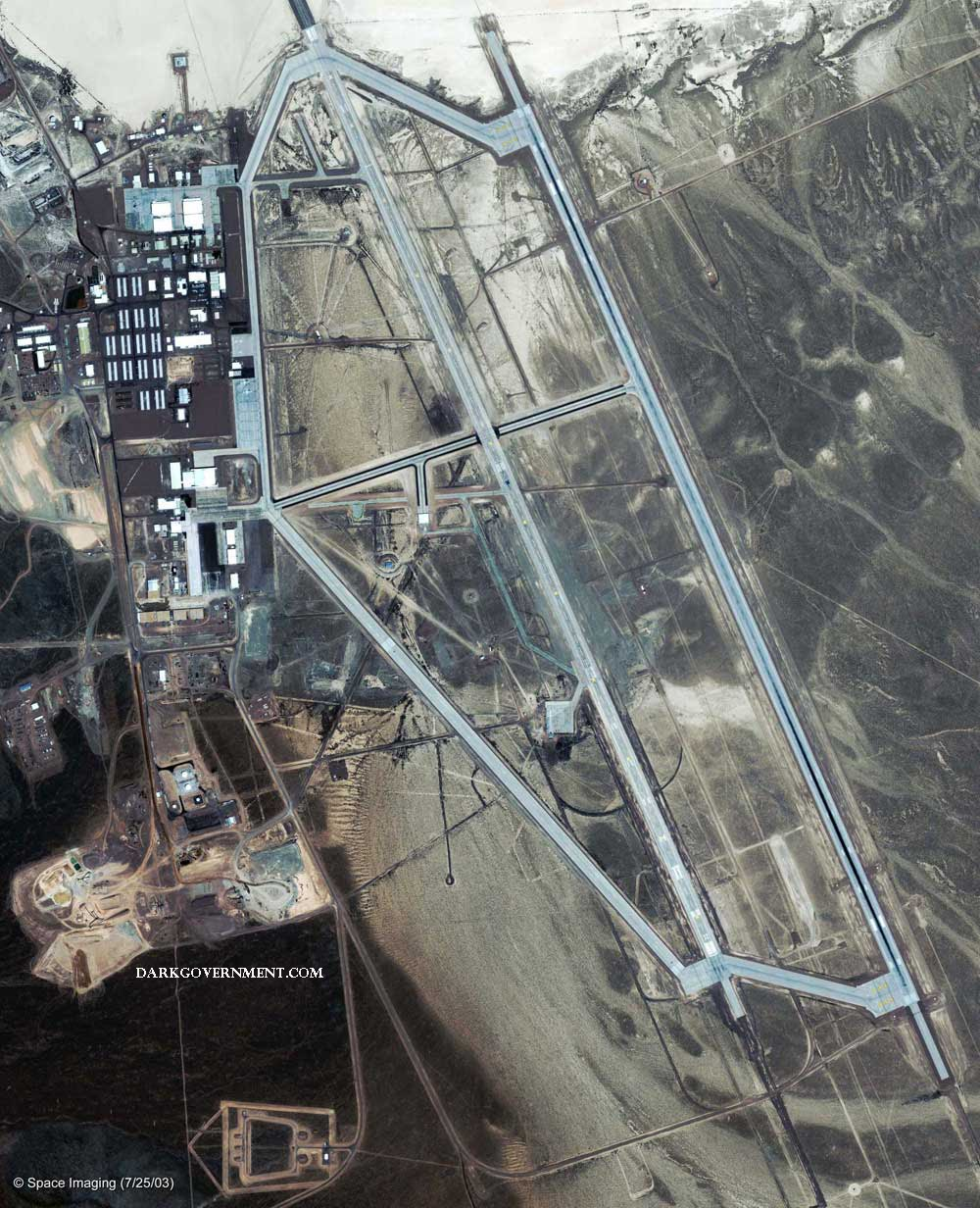satellite view of area 51