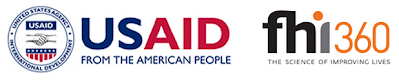 USAID and FHI 360 logos