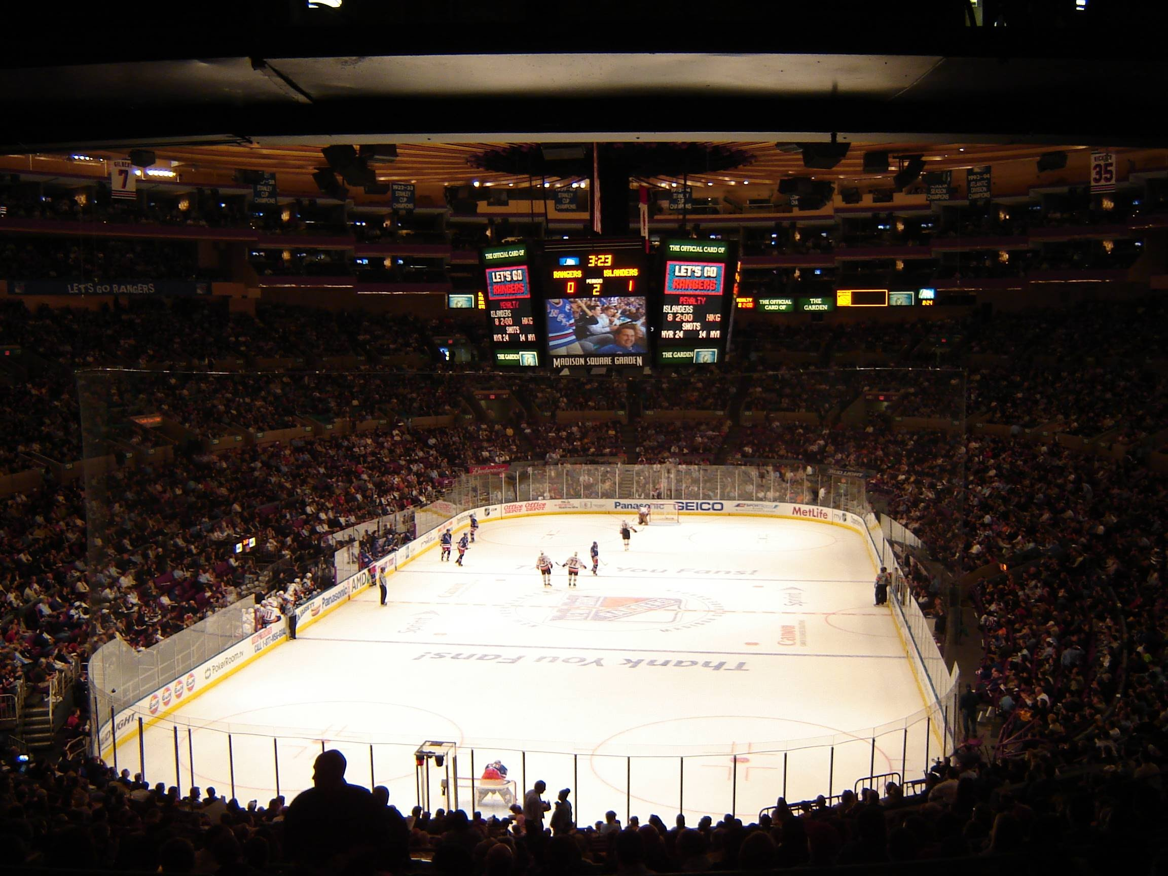 Rangers Madison Square Garden Group Picture Image By