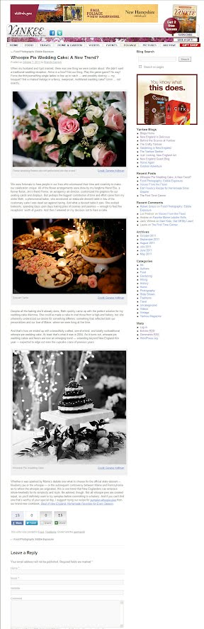 NEW Yankee Blog Site -- BLOG DETAIL PAGE