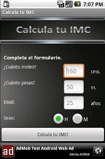 Calcular imc android