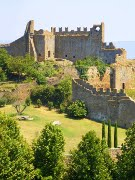 churches and abbeys in Tuscania