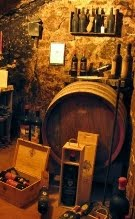 tasting in Montalcino Vinery