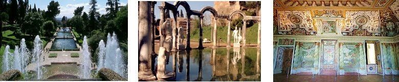 Day trips from Rome to Villa d'Este and Villa Adriana
