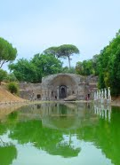 villa Adriana in Tivoli fountain