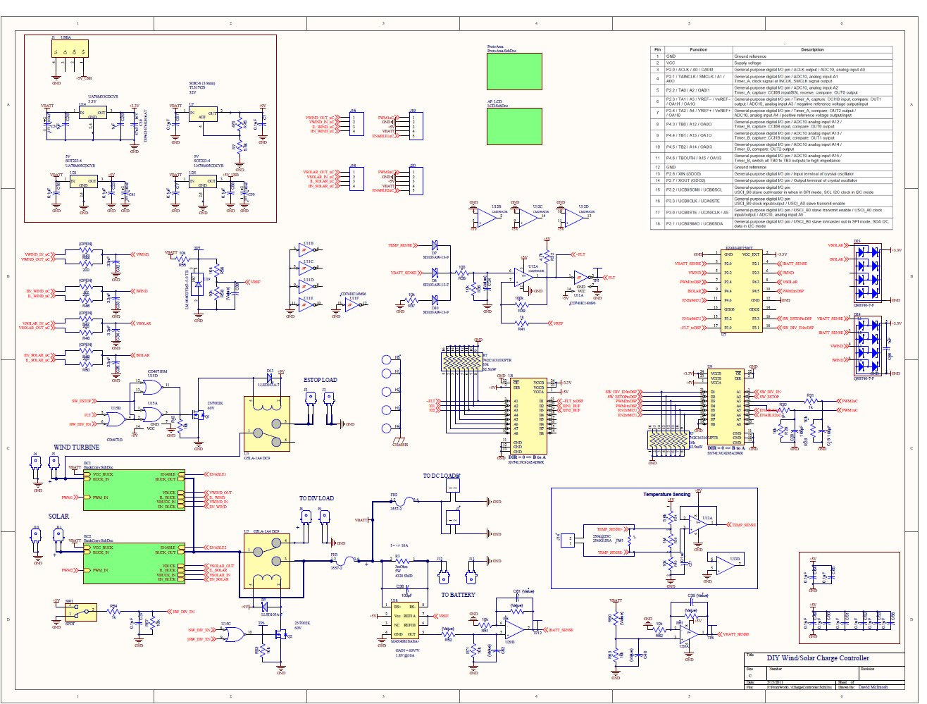 ChargeController on solar energy circuit diagram pdf