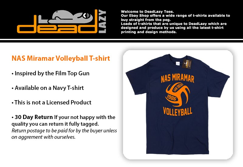 Top Gun Inspired NAS Volleyball Mens Navy T-Shirt Tee ... Top Gun Volleyball Shirt