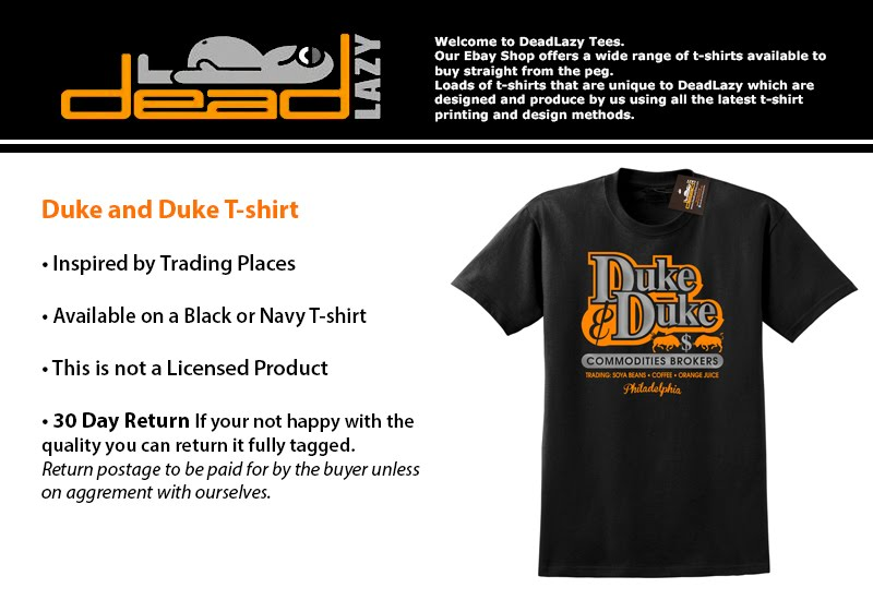 2e86d626 Duke & Duke T-shirt Inspired by Comedy Retro Film Trading Places ...