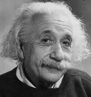 Photo of face only (Albert Einstein)