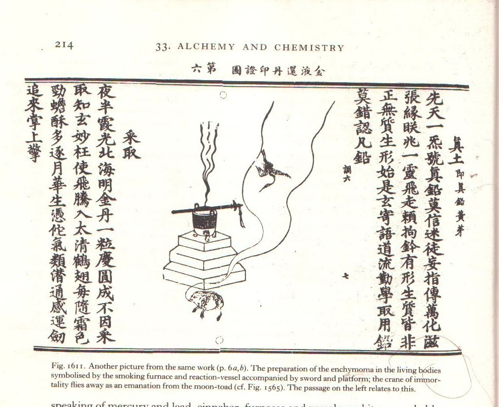 A toad on the moon or a brief speculation on chinese psychoactive the alchemical furnace alters were often to have the usual taoist sword and yin and yang in the shapes of toad and phoenix writes needham biocorpaavc Images