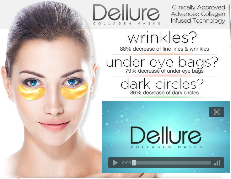 Dellure Collagen Masks Review
