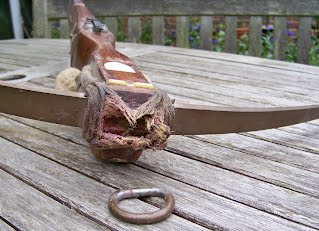 Repro Crossbow - Derek Hutchison Native Wood Self Bows