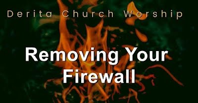 Removing Your Firewall