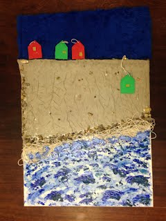Student visual and tactile representation of coastal erosion in Norfolk