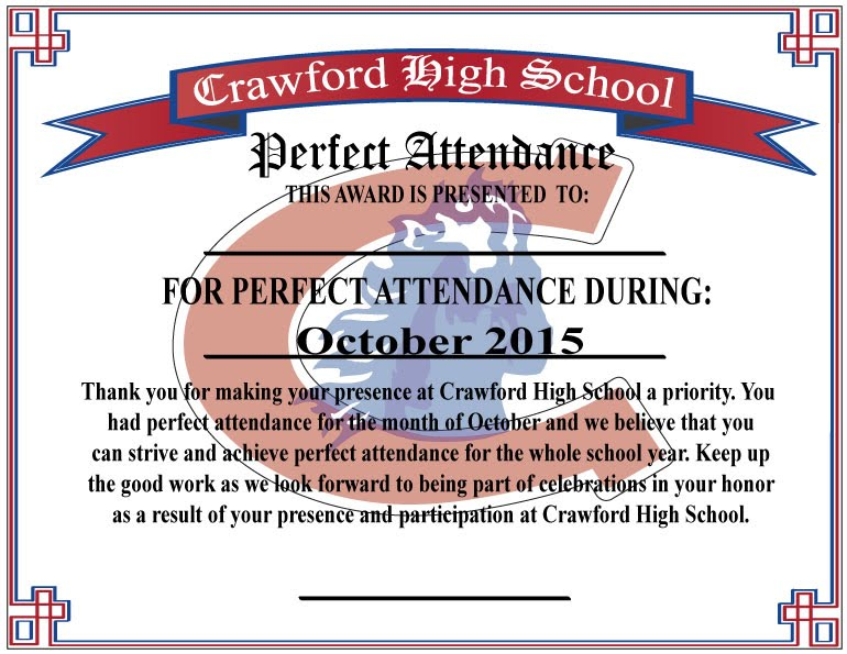 Product Review: Perfect Attendance Award - Devone's Portfolio