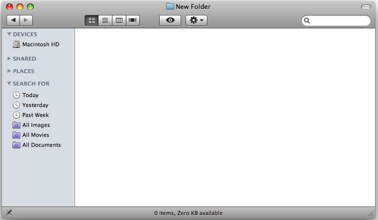 finder ftp view