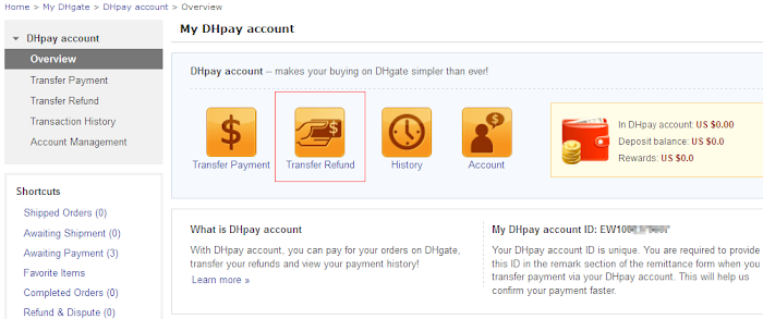 How to Withdraw Cash from DHpay Account - DHResQueue