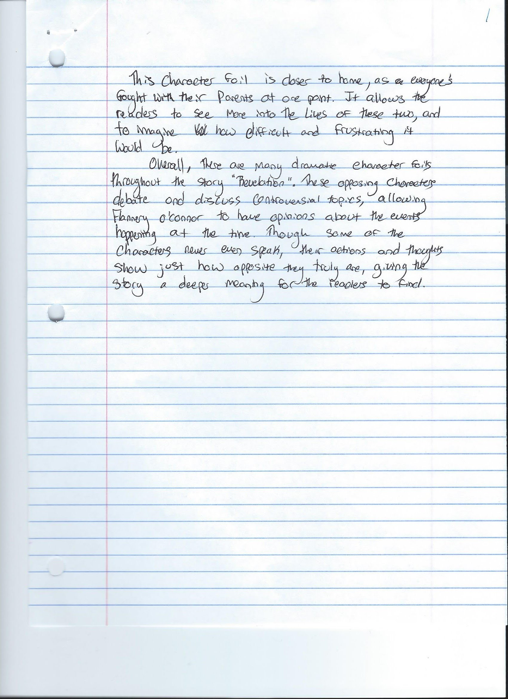 short story essay dhs writing portfolio 2 comments